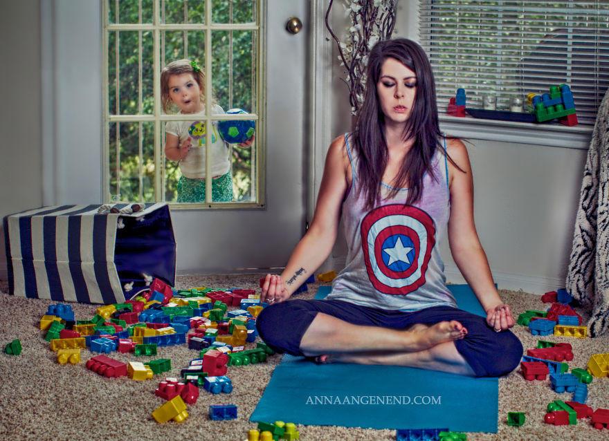 майка, снимки, дете, списание родител