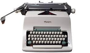 пишеща машина