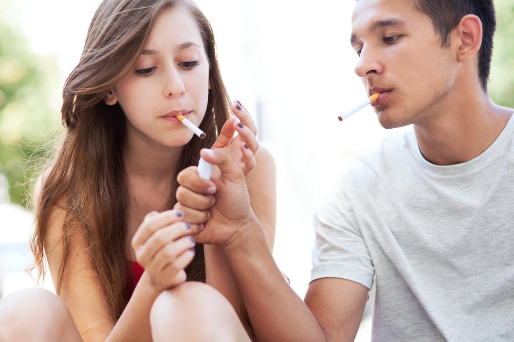 деца, пушене, цигари