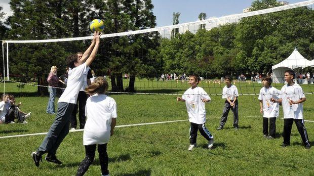 волейбол деца