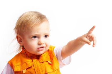 жестове дете