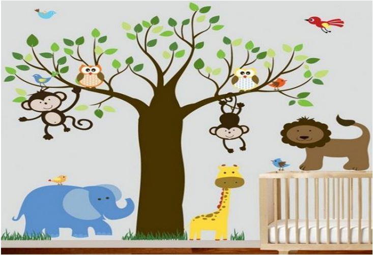 идеи стени детска стая 1