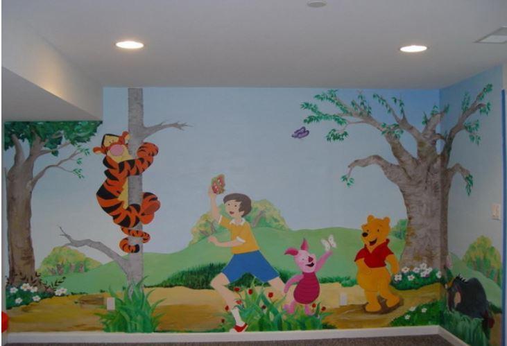 идеи стени детска стая 17
