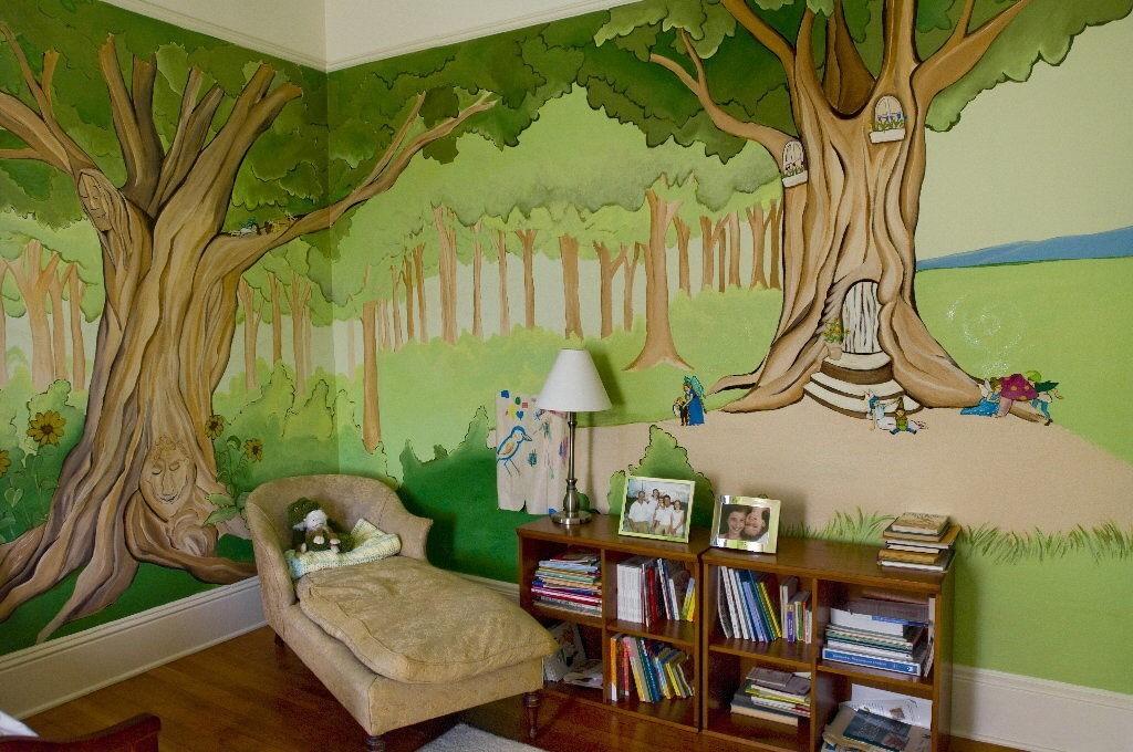 идеи стени детска стая 21