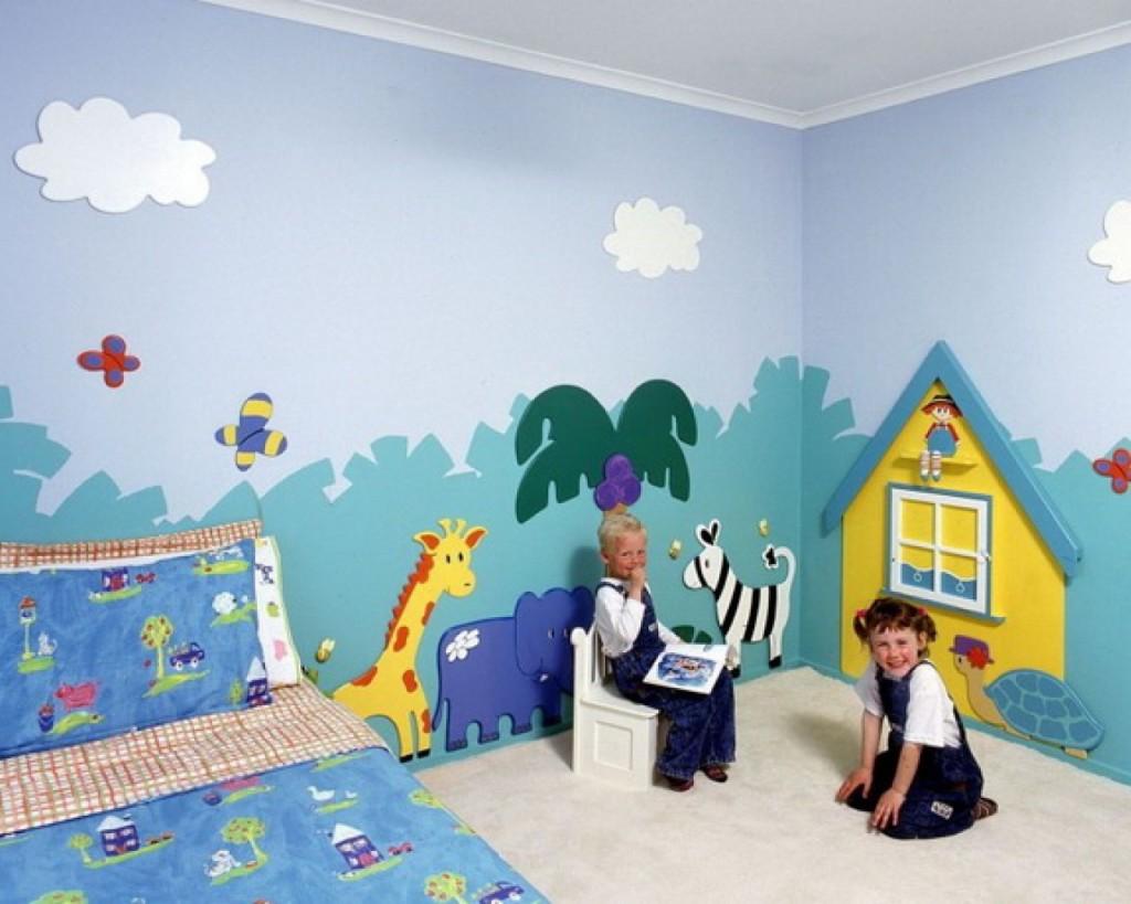 идеи стени детска стая 24