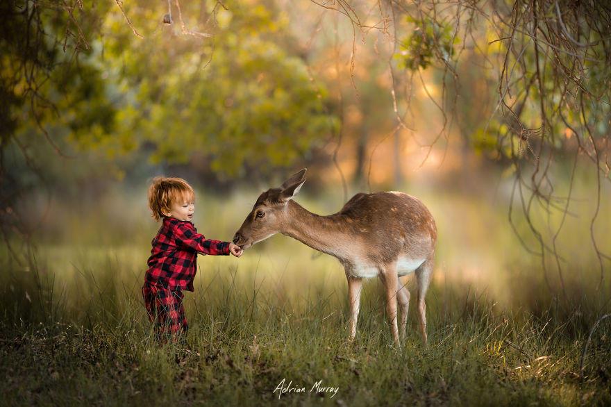Снимки деца сред природата1