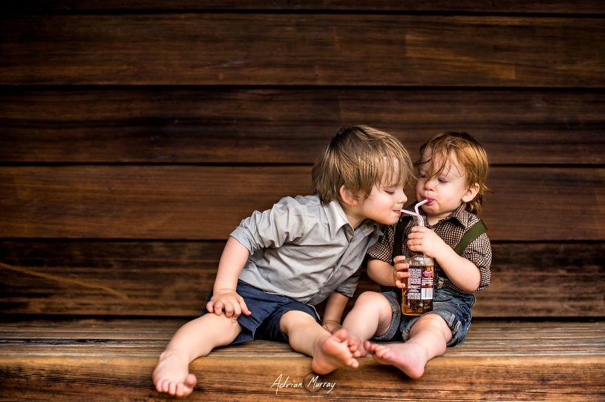 Снимки деца сред природата10