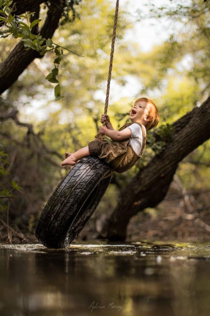 Снимки деца сред природата3