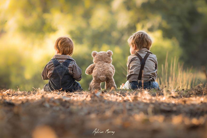 Снимки деца сред природата4