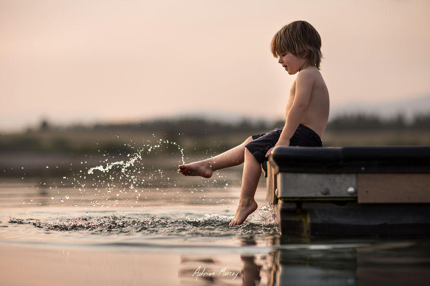 Снимки деца сред природата6