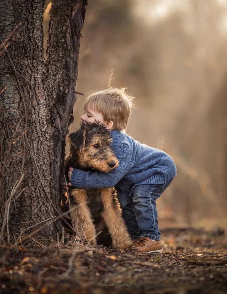 Снимки деца сред природата7
