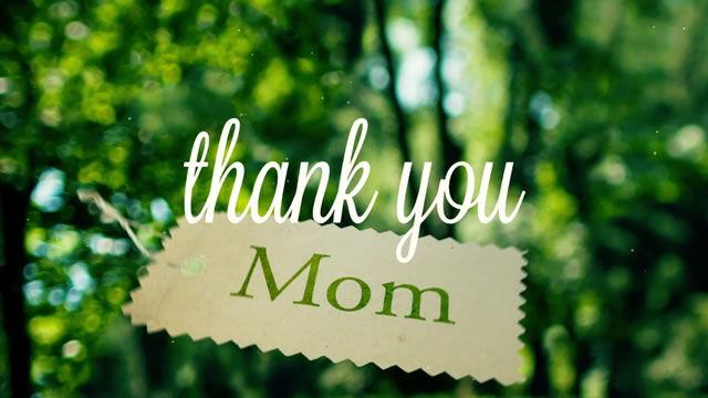 благодаря ти мамо