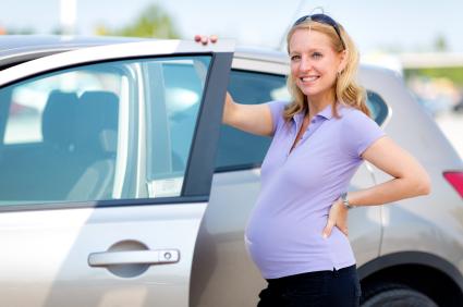 бременност пътуване с кола
