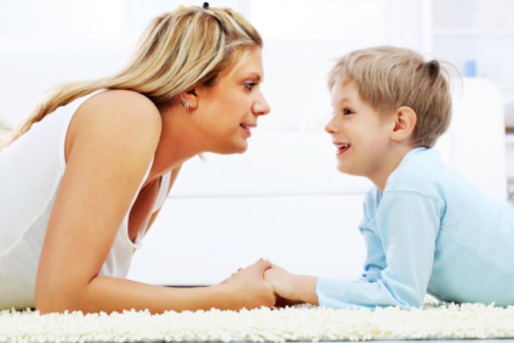 майка дете разговор