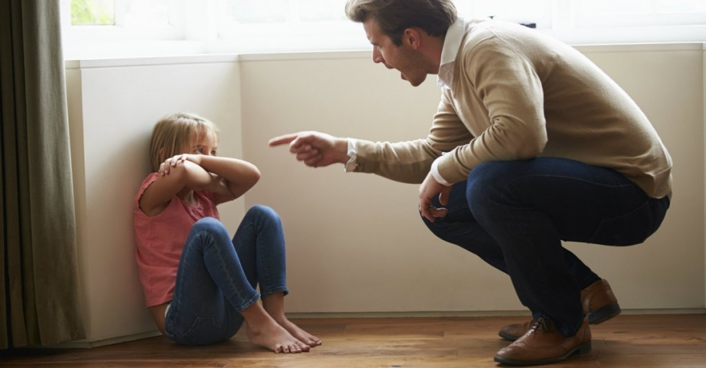наказание дете родител