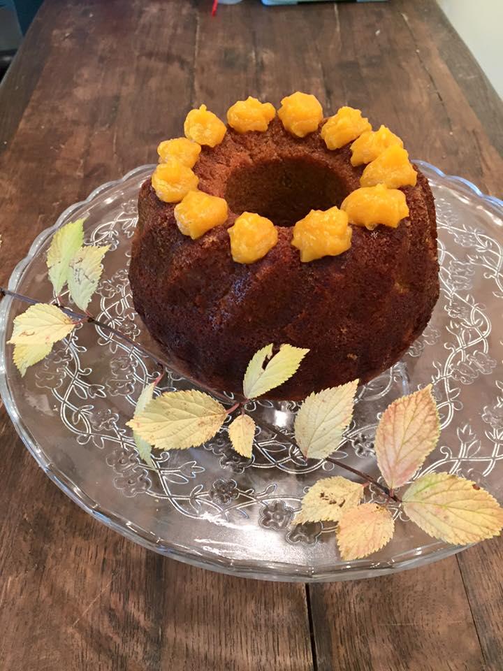 тиквен кейк без брашно