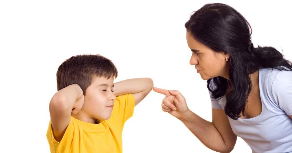 критика обиди родител дете