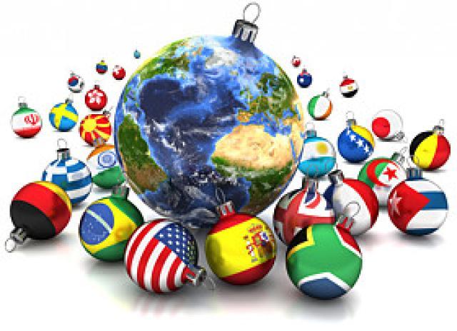 коледа нова година по света