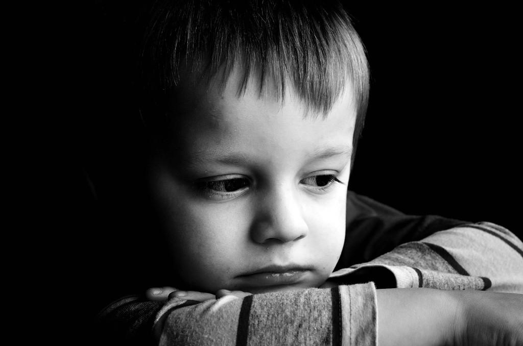 Тъжно дете