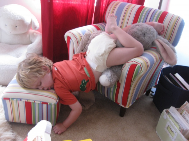 забавни снимки спящи деца1