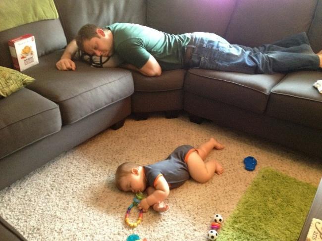 забавни снимки спящи деца11