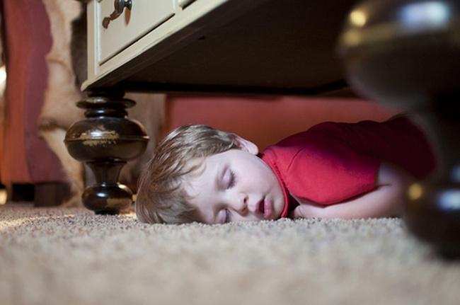 забавни снимки спящи деца12