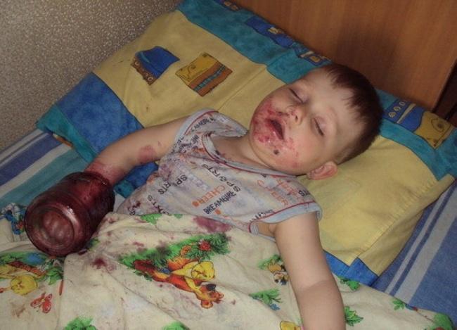 забавни снимки спящи деца14