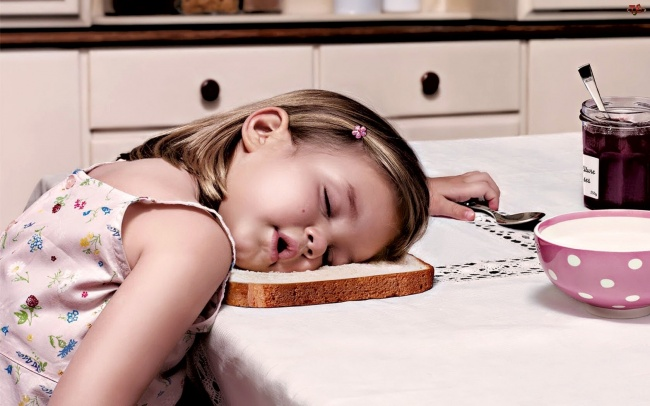 забавни снимки спящи деца2