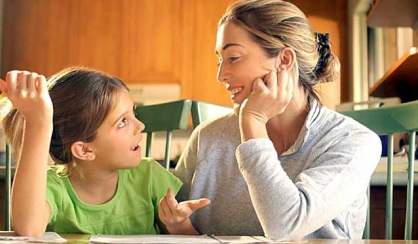 разговор дете родител