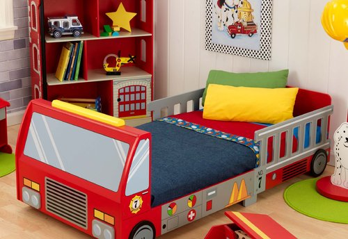 идеи детска стая легло кола4