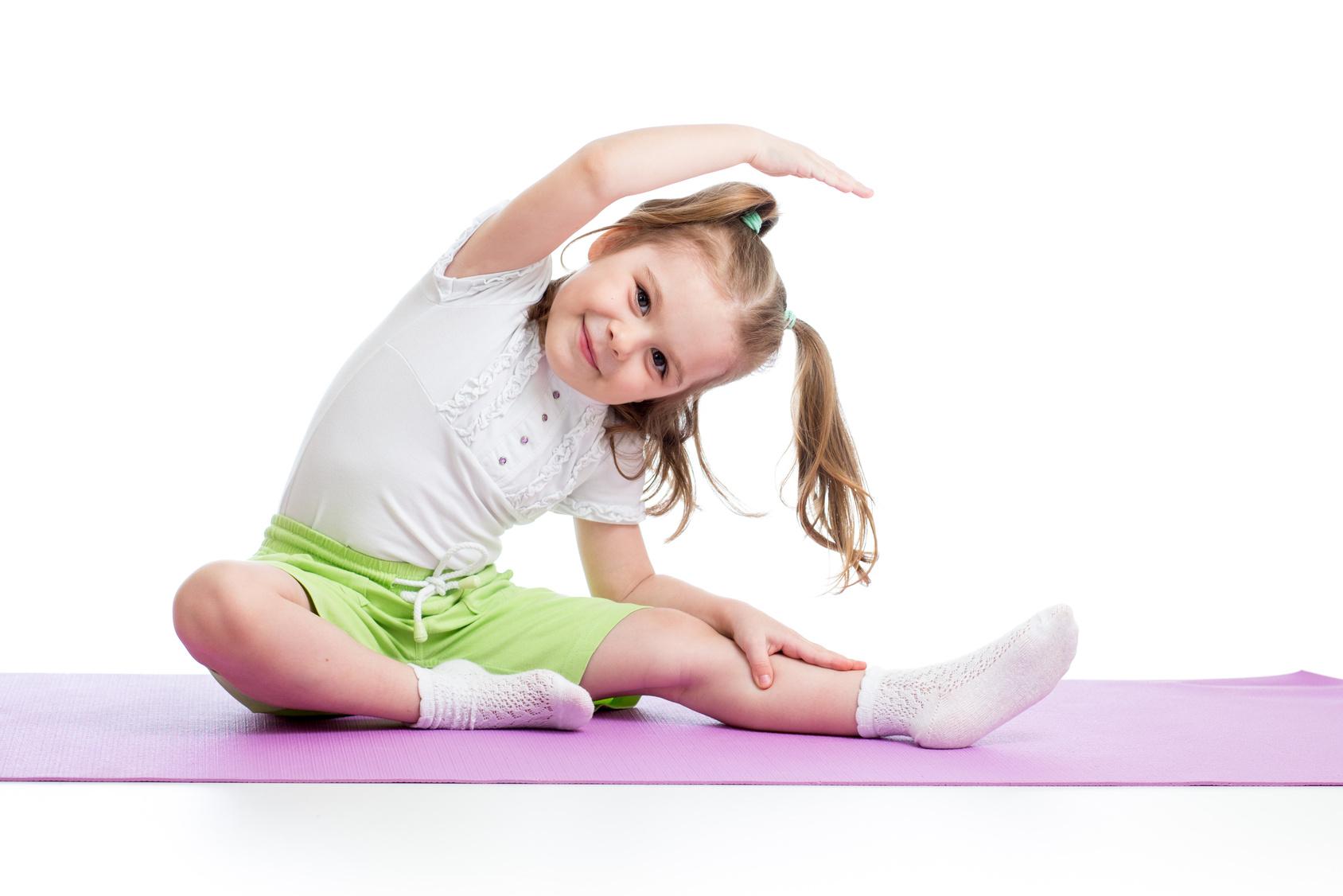 йога дете