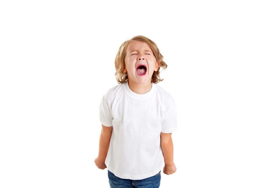 гневно дете