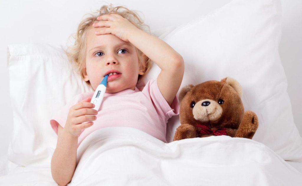 дете температура болно вирус грип