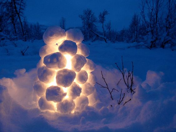 шведски снежен фенер