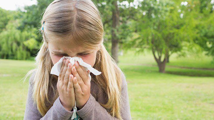алергия сенна хрема дете хранене