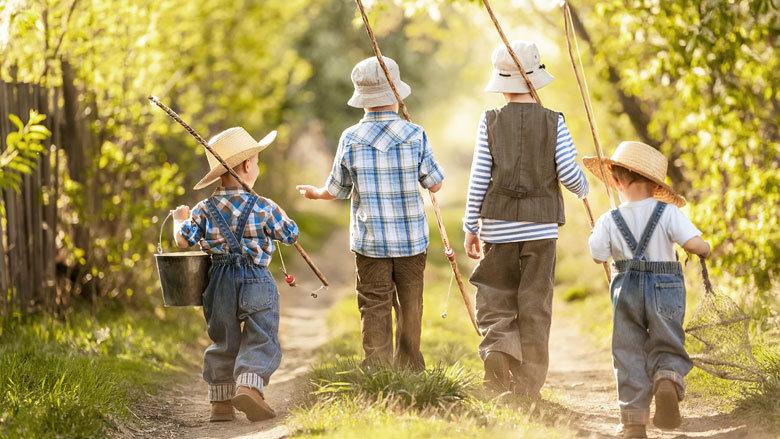 четирима братя синове