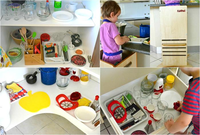 кухня дете готвене монтесори