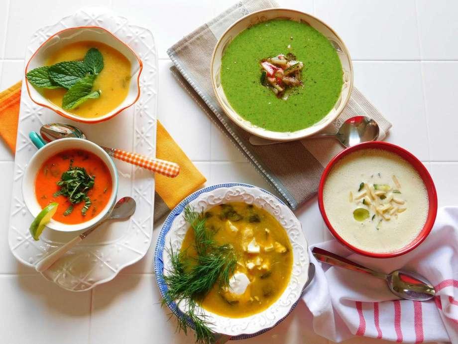 студени супи рецепти