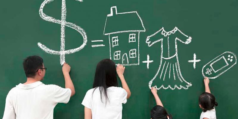 финансово самостоятелно дете боравене с пари
