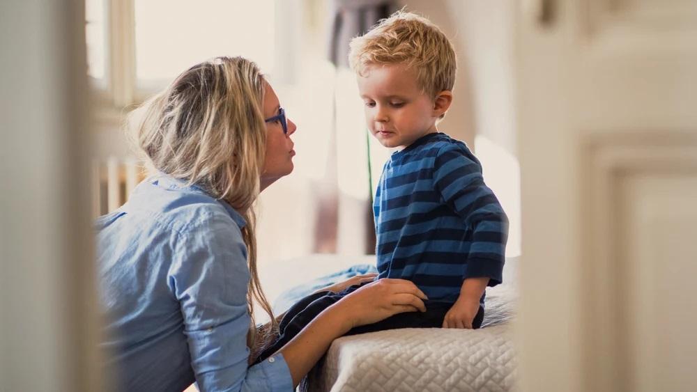 дете_майка възпитание добър пример
