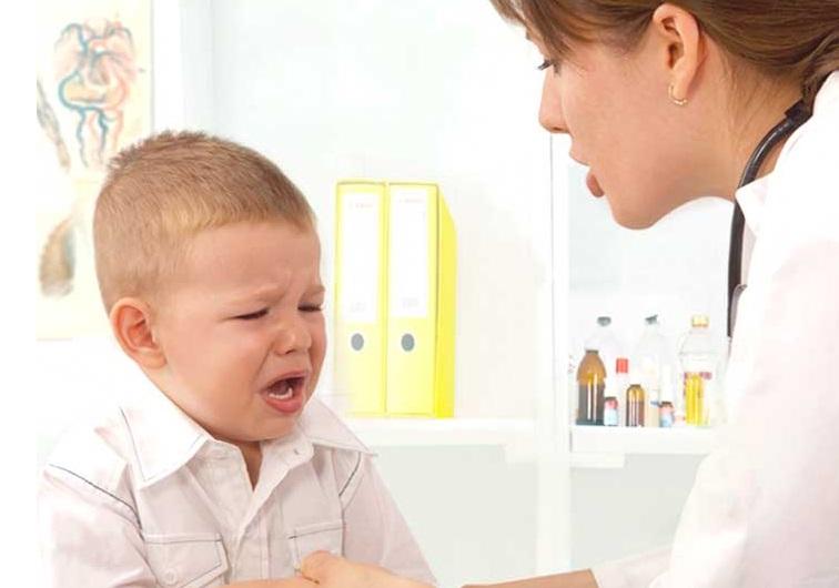 деца страх от лекар