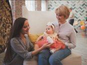 правила при посещение на бебе