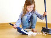 монтесори занимания у дома чистене метене