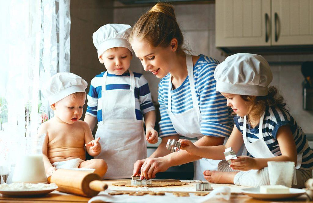 готвене курабийки деца рецепта