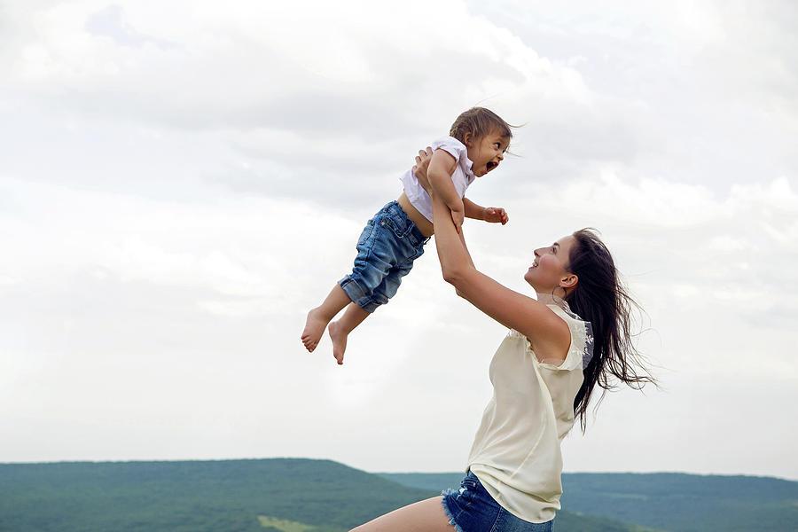 майка син любов природа