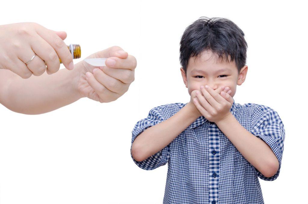 болно дете отказва лекарство
