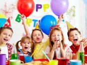 детски рожден ден правила обноски