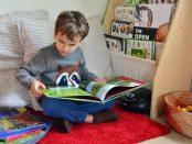 монтесори четене книги