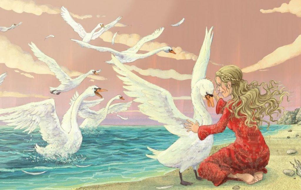 дивите лебеди приказка андерсен