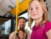 с дете в градския транспорт